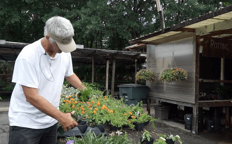 Joseph McDougall owns Forest Lake Produce