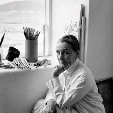 Georgia O'Keeffe by Laura Gilpin 1953